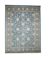 Made In Turkey Floral Pattern Area Rug