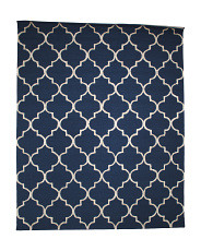 Made In India Moroccon Tile Area Rug