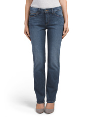 Petite Made In USA Marilyn Straight Jeans