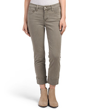 Petite Made In USA Bobbie Boyfriend Twill Pants