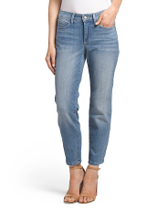 Petite Made In USA Clarissa Skinny Ankle Jeans