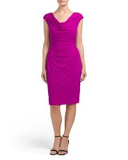 Petite Valli Matte Jersey Dress