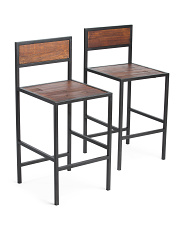 Set Of 2 Counter Stools