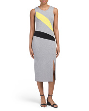 Petite Colorblock Maxi Dress
