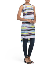 Petite Stripe Enlight Me Top