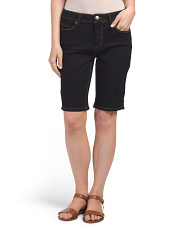 Petite Fit Solutions Booty Enhancing Bermuda Shorts