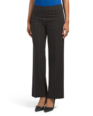 Petite Stripe Wide Leg Pants
