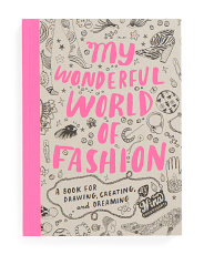 Wonderful World Of Fashion Adult Coloring Book