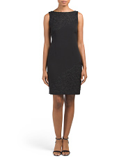 Petite Sequin Lace Dress
