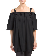 Made In Usa Cold Shoulder Tunic