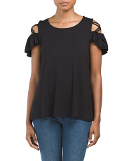 Made In USA Criss Cross Top