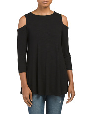 Swingy Cold Shoulder Tunic