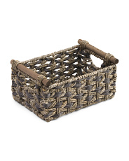 Small Woven Natural Storage Basket