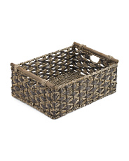 Extra Large Woven Natural Storage Basket