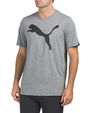 Essential  Big Cat Heather Tee