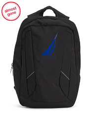 Paneled J Backpack