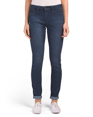 Stone Wash Skinny Denim Jeans