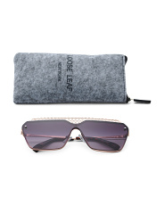 Fashion Sunglasses With Case And Pouch
