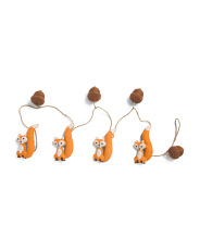 Made In India 6ft Fox & Acorn Garland