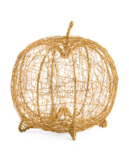 Made In India Wire Pumpkin