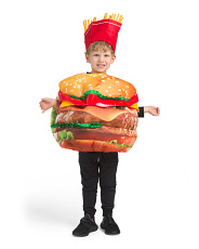 Kids Burger & Fries Costume
