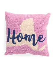 16x16 New York Home Pillow