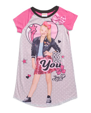 Girls Jojo Be You Sleep Gown