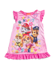 Toddler Girls Paw Patrol Sleep Gown