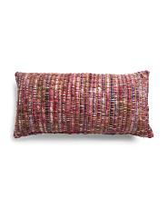 Made In India 16x32 Chunky Woven Pillow