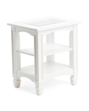 Bayside Glass Top Table