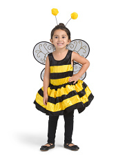 Toddler Bumble Bee Fairy Costume