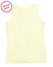 Big Girls Tie Back Tank