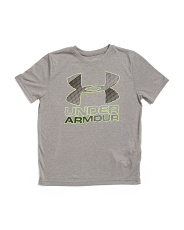 Boys Big Logo Hybrid T-shirt