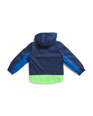 Big Boys Water Resistant Boarder Jacket With Fleece Lining