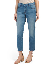 Petite Made In Usa Diana Relaxed Boyfriend Jean