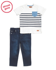 Toddler Boys 2pc T-shirt & Pant Set