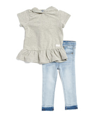Infant Girls 2pc Hoodie & Pant Set