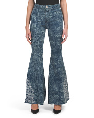 Float On Embroidered Jeans
