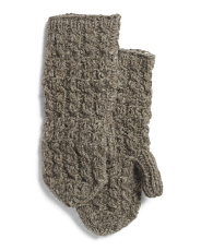Made In Nepal Wool Mika Mittens Fully Lined With Fleece