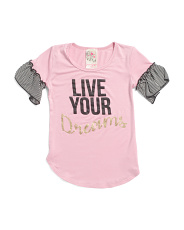 Big Girls Made In Usa Live Your Dreams Top