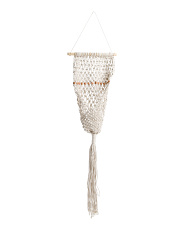 Made In India 13x43 Macrame Plant Holder