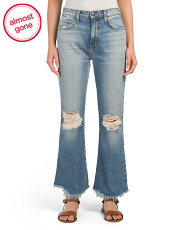 Made In Usa The High Waist Kick Jeans
