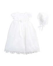 Newborn Girls Christening Gown