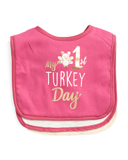 Baby 3pk My 1st Thanksgiving Bibs