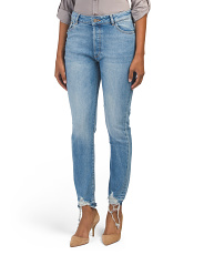 Bella High Waisted Tapered Jeans