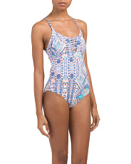 Designed In Australia One Piece Swimsuit