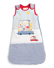 Baby Boy Animals Driving Sleep Sack