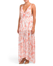 Juniors Australian Designed Tropical Maxi Dress
