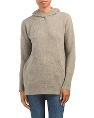 Cuddle Cashmere Blend Sweater Hoodie