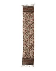 Made In India Cella Shawl Paisley Print Runner